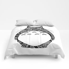 Forest Spirit Zentangle Comforters