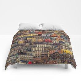 Copenhagen Facades Comforters
