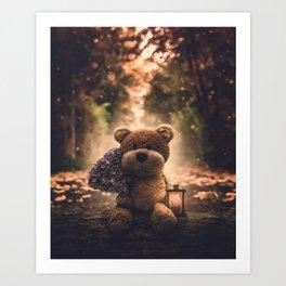 Teddy 2 Art Print