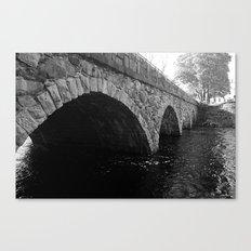 The Pleasant Street Bridge Canvas Print