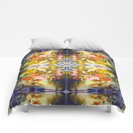 Marigold Photographic Pattern #1 Comforters