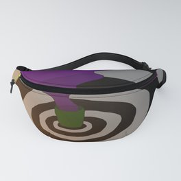 Purple Stuff Fanny Pack