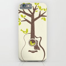 Birds & Acoustic Guitar Slim Case iPhone 6s