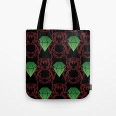 Emeralds & Demons [BLACK] Tote Bag