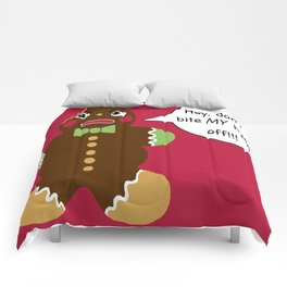 Gingerbread Cookie Angst Comforters