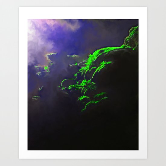 Lush Depths Art Print
