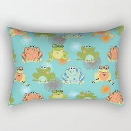 I love frogs Rectangular Pillow