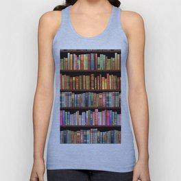 Vintage books ft Jane Austen & more Unisex Tank Top
