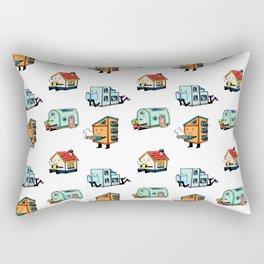 Home Bodies pattern Rectangular Pillow