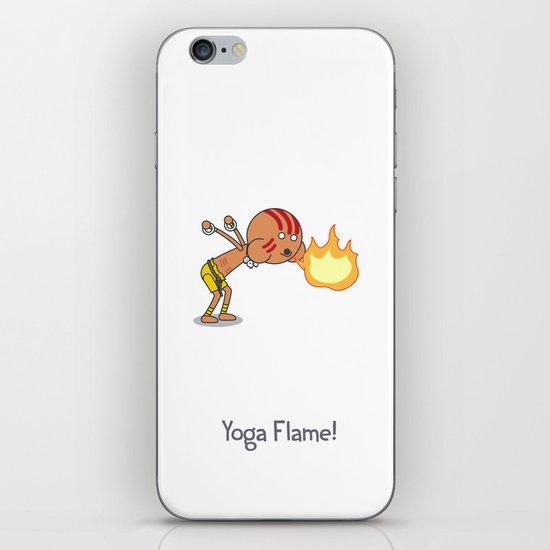 Yoga Flame! iPhone & iPod Skin