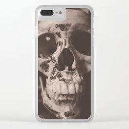 Orbicularis Oculi Clear iPhone Case