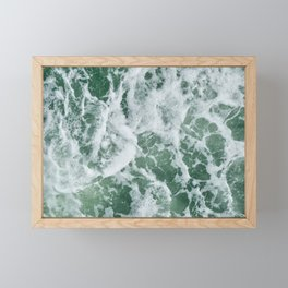 Rough Seas Framed Mini Art Print