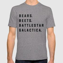 Bears Beets Battlestar Galactica - the Office T-shirt