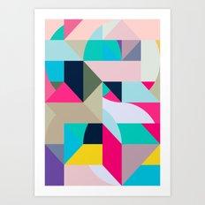 Gelati Art Print