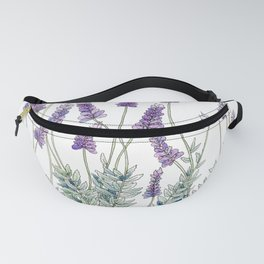 Lavender, Illustration Fanny Pack