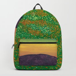 Temecula, California Spring Field of Poppies Backpack