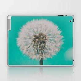 Green Blue Dandelion Laptop & iPad Skin