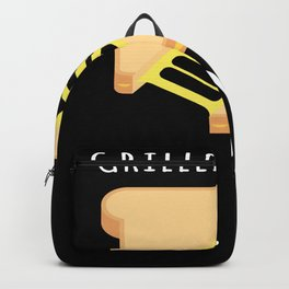 Grilled Cheese King BBQ Backpack