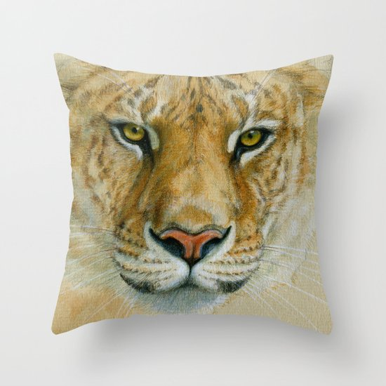 Liger CC007 Throw Pillow