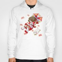 bee and puppycat Hoodies featuring Bee and Puppycat by Artist Meli