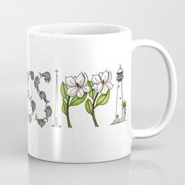 Mississippi Word Art Coffee Mug