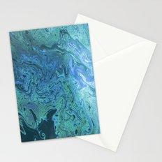 Sea of Swirls Stationery Cards