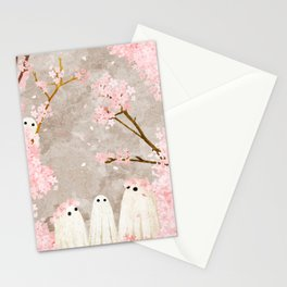 Cherry Blossom Party Stationery Cards