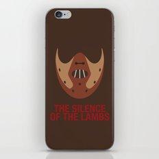 THE SILENCE OF THE LAMBS iPhone & iPod Skin