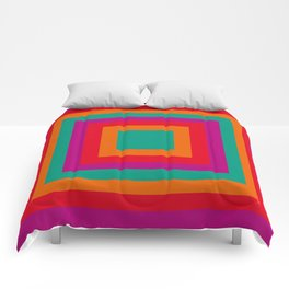Square red Comforters