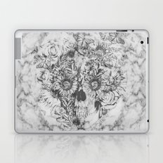 Bookmatched Skull Laptop & iPad Skin
