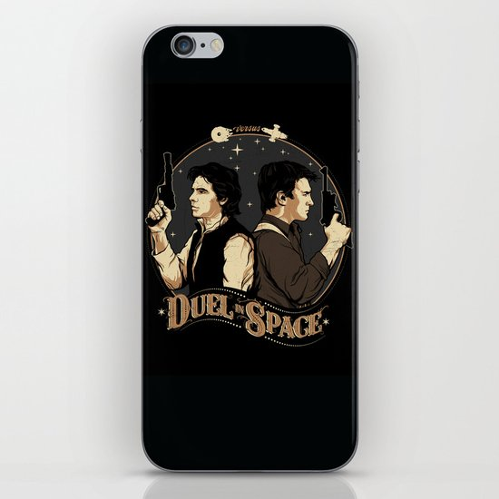 Duel in Space iPhone & iPod Skin