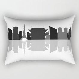 tokio skyline Rectangular Pillow
