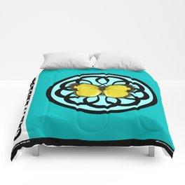 Fruit of the Spirit, Gentleness (Sea Blue) Comforters
