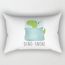 Dino-Snore Rectangular Pillow