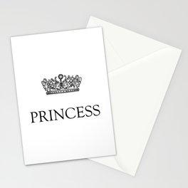 Princess Crown Stationery Cards