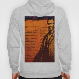 Abraham Lincoln and the Gettysburg Address Hoody