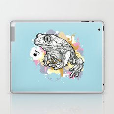 Melodic Frog Laptop & iPad Skin