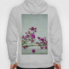 pink florets branch Hoody