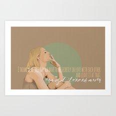 Margot Helen Tenenbaum Art Print