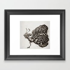 Caddis Hatch Framed Art Print