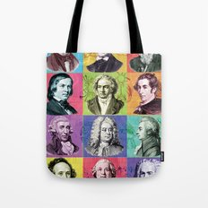 Composers Compilation Tote Bag