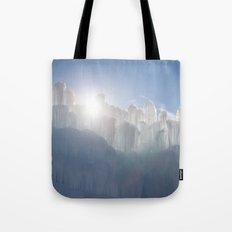 Ice Castles Tote Bag