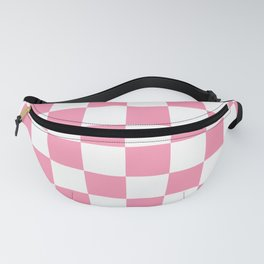 Pink Checkers Fanny Pack