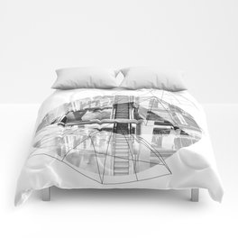 Pyramid_1 Comforters