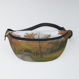 Halloween Cemetery Fanny Pack