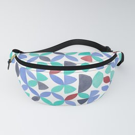 LITE GARDEN SALAD, hand-painted pattern by Frank-Joseph Fanny Pack