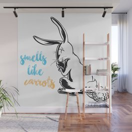Smells Like Carrots Wall Mural