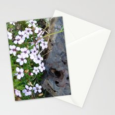 Volcanic flowers Stationery Cards