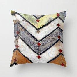 Marble Floor Throw Pillow