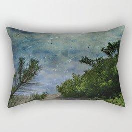 Rising Obscurity Rectangular Pillow